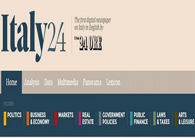 """Gruppo Sole 24 Ore si rafforza in USA con quotidiano digitale """"Italy24"""""""