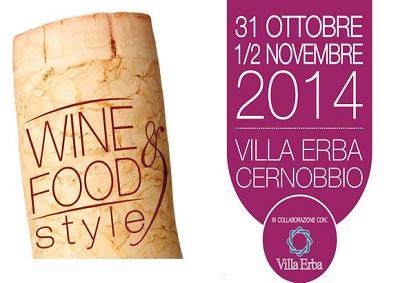 A Cernobbio la prima edizione di Wine&Food Style