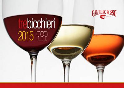 "La Guida ""Vini d'Italia 2015"" assegna 423 Tre Bicchieri"