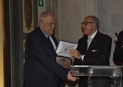 Al giornalista Giancarlo Mazzuca Premio NIAF alla Carriera