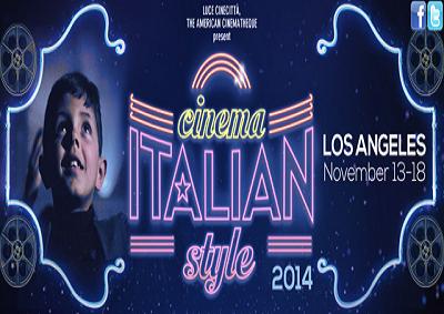 A Los Angeles si proietta italiano con Cinema Italian Style