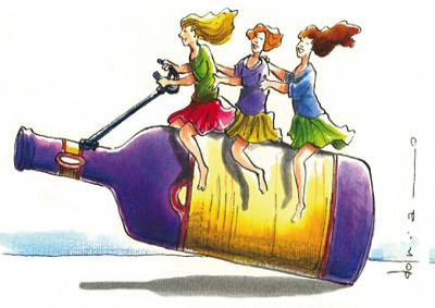 Mai stanche le Donne del Vino si preparano a Napoli e Verona