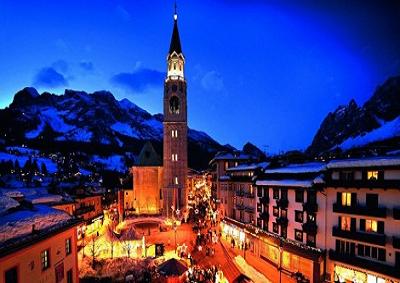 "A Cortina le ""bollicine"" più alte d'Europa, a 1.338 metri"