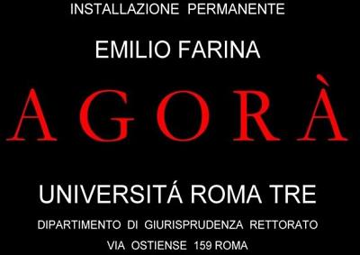 AGORÁ Esposizione permanente di Emilio Farina
