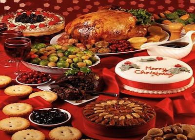 Maratona a tavola per le feste e poi regalo di 2-3 kg in più