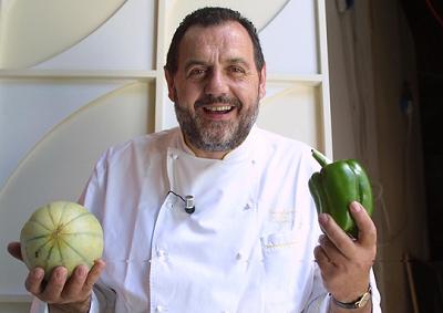 Vissani fa 4 e cucina a Todi nel relais di Luisa Todini