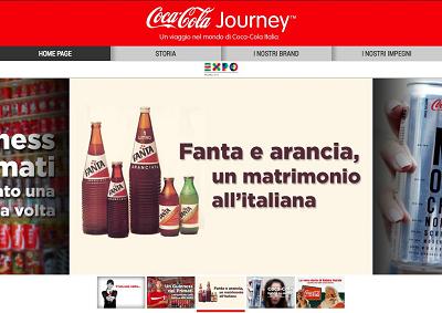 Con Journey un viaggio nel mondo di Coca Cola