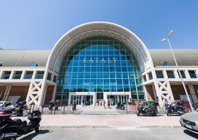 Eataly: spazio vendita del design sostenibile 100% italiano