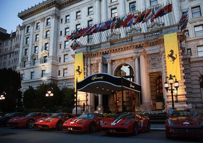 Ferrari: auto-raduno Cavalcade in California ricordando Enzo