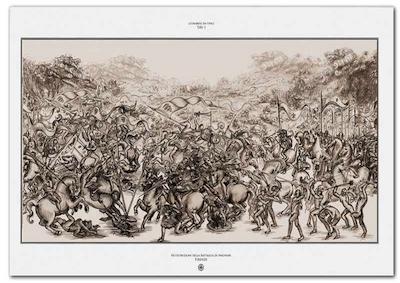 """""""La Battaglia di Anghiari"""" di Leonardo debutta a Kyoto"""