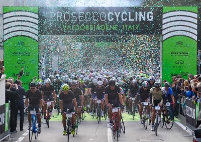 Prosecco Cycling, già 1200 iscritti da 25 nazioni