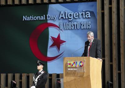 ALGERIA CELEBRA IL NATIONAL DAY  A EXPO 2015