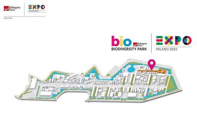 Expo: strada di luce in bottiglia illumina Biodiversity Park