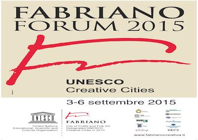 Turismo: a Fabriano il Forum Unesco delle Città Creative