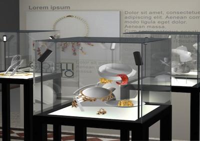 Expo: in mostra gioielli e cibo, forme appetitose d'autore
