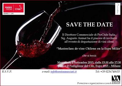 Expo, alla scoperta del Cile e dei suoi vini