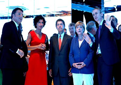 Expo: Renzi e Merkel pasteggiano con vini di ISWA al Padiglione Italia