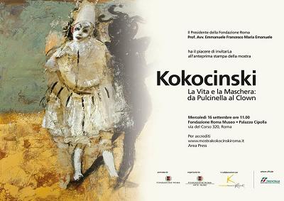 Kokocinski: la vita e la maschera