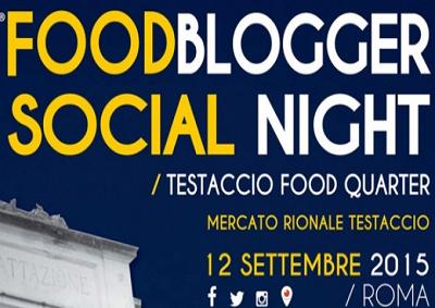 Prima Edizione di Foodblogger Social Night