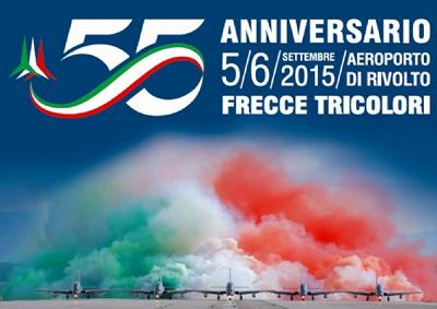 Frecce Tricolori festeggiano 55 anni di favolose acrobazie