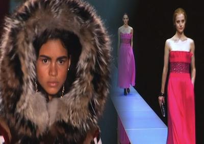 Moda: in inverno sarà romantica squaw, tra pellicce e macaron