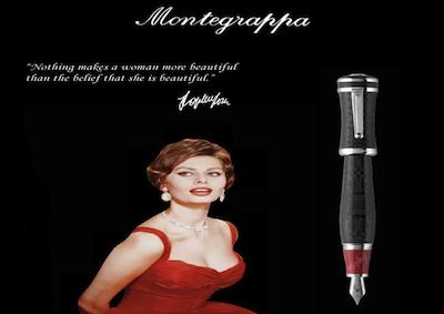 La Collezione Montegrappa rende omaggio alla Loren