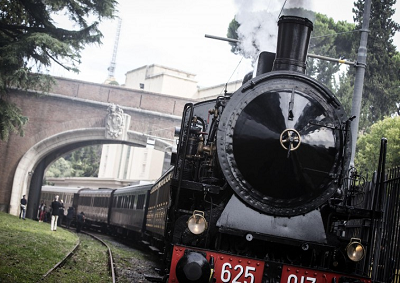 Vaticano: parte il treno delle ville pontificie