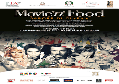 Expo: a Washington Movie'n'food per celebrare Made in Italy