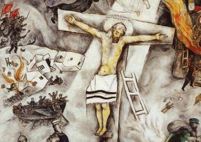 La Crocifissione bianca di Chagall in Battistero Firenze