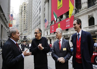 Ferrari: il simbolo del Made in Italy romba a Wall Street