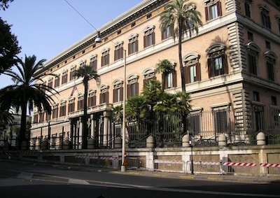 Roma capitale diplomatica mondiale con 351 ambasciate