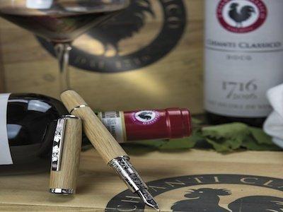 Gallo Nero in punta di penna OMAS per 300 anni Chianti Classico