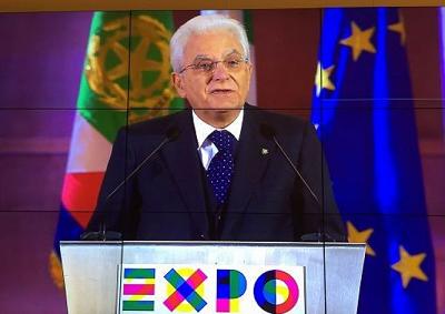 Expo Milano 2015: intervento del Presidente della Repubblica, Sergio Mattarella, alla cerimonia conclusiva