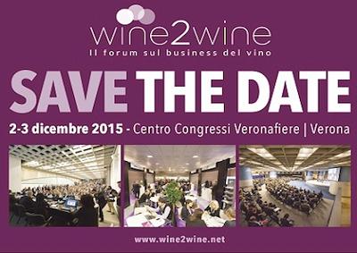 Wine2wine 2015 a Verona il 2 e 3 dicembre