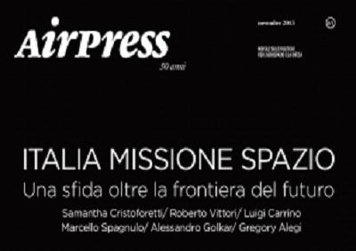 Airpress festeggia 50 anni con analisi Italia missione spazio