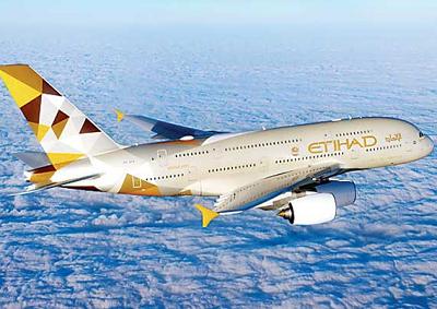 Etihad Airways premiata come migliore compagnia aerea 2016