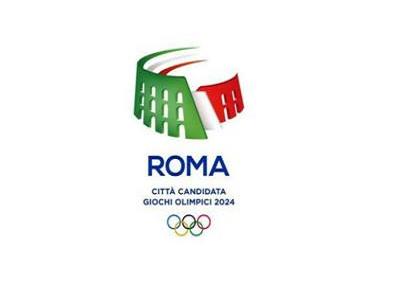 Un Colosseo tricolore per il logo di Roma Olimpiadi 2024