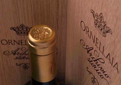 Vino: Ornellaia e Sotheby's presentano Archivio Storico