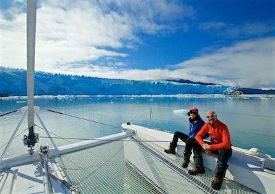 Italiano il primo catamarano a sud del Circolo polare antartico