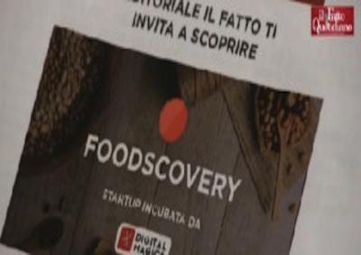 Il Fatto con Foodscovery per top Made in Italy gastronomico