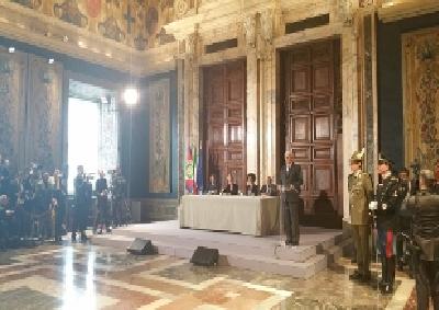 Giornata Qualità Italia, al Quirinale consegna Premi Leonardo