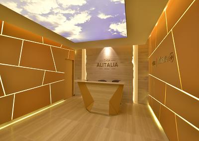 Nasce Casa Alitalia, prime 2 nuove lounge a Fiumicino e Malpensa