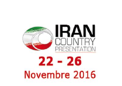 Iran con Country Presentation a Fiera Roma con 120 aziende
