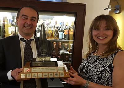 Sandro Bottega Riedel Wine Maker of the year