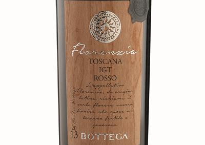 Florenzia: da Bottega un nuovo vino rosso in omaggio alla Toscana