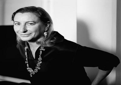 """Miuccia Prada si aggiudica l'""""Outstanding achievement award"""""""