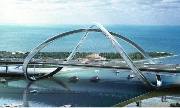 """La trevigiana Maeg realizza il """"ponte dell'infinito"""" a Dubai"""