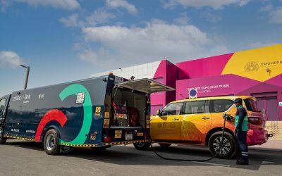 ENOC Link to fuel Expo 2020 Dubai fleet