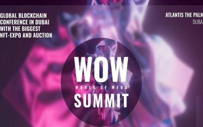 The biggest blockchain summit and NFT exhibition in Dubai